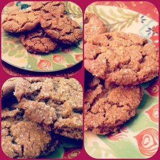 Molasses sugar cookies2