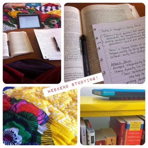 Weekend Studying