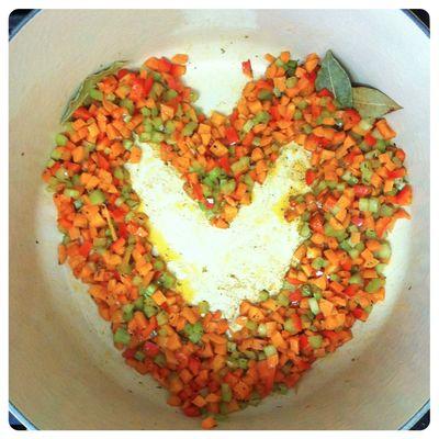 Beanery veggieheartwreath
