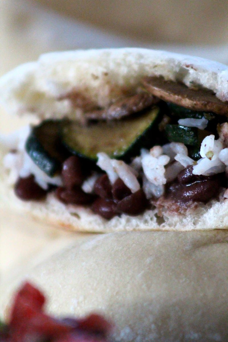 Vegan pita taco 10