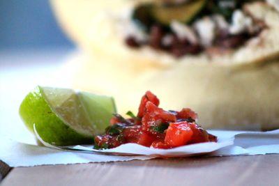 Vegan pita taco 9