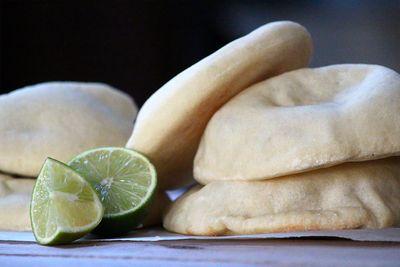 Vegan pita taco 6